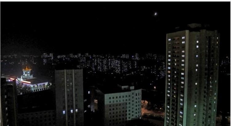 高清图—中国游客实拍朝鲜现状 平壤贫穷不及中国小城市