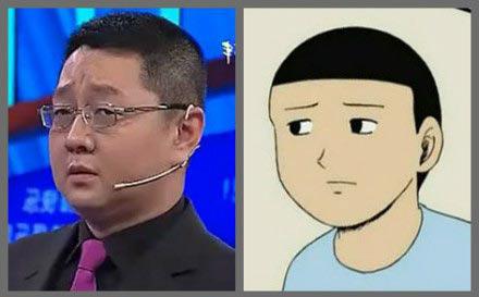 高清图—《非你莫属》主持人张绍刚遭PS恶搞