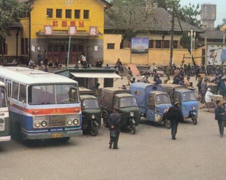 高清图—图片记录1980-2012年中国交通工具的变化