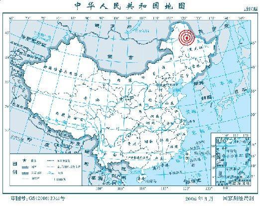 黑河市嫩江县与内蒙古莫力达瓦达斡尔族自治旗地震20130620