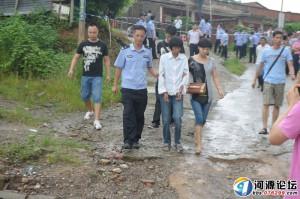 高清图—广东省河源市源南镇一女子引爆煤气致三人死亡