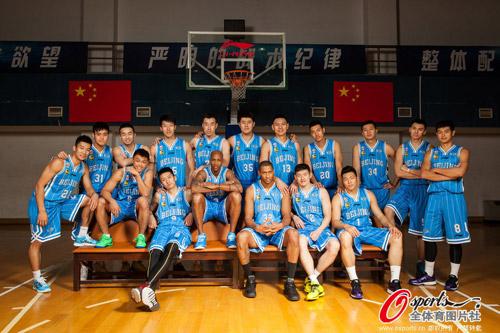 莫里斯单兵作战!北京金隅VS佛山直播录像CBA20131203