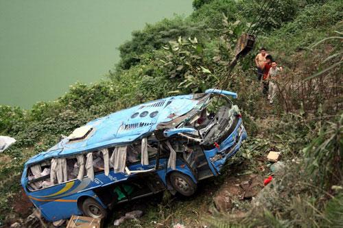 高清图—四川达州市宣汉县凤林乡妇女将两小孩推下山崖致死