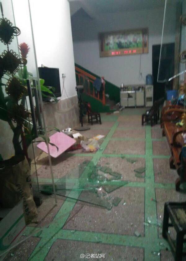 湖南醴陵富里镇科富花炮厂发生爆炸