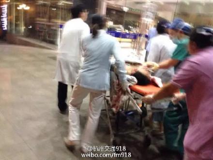 杭州市区发生凶杀案 绍兴路161号位女子被人捅了好几刀