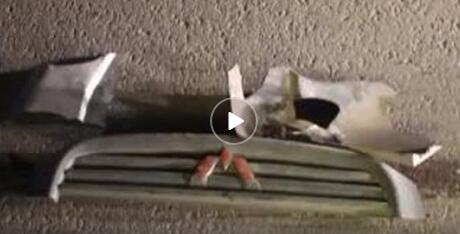 男子撞死人后逃逸 为逃处罚把车拆了