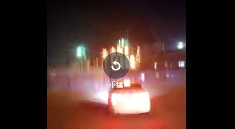 佳木斯火车站原北站房起火