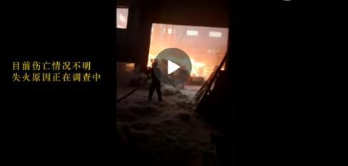 六安市裕安区固镇一鹅毛厂发生火灾