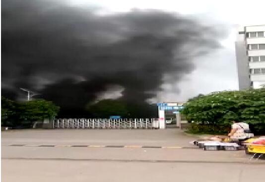 江西811三元电池生产企业福斯特新能源集团有限公司起火