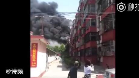 北京市密云花园小区44号起火爆炸