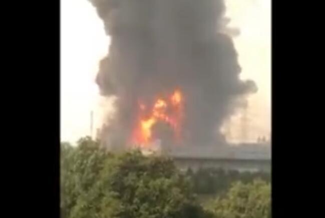 上海湘奉实业发展有限公司发生火灾