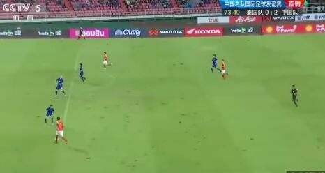 武磊梅开二度 中国队2-0泰国队