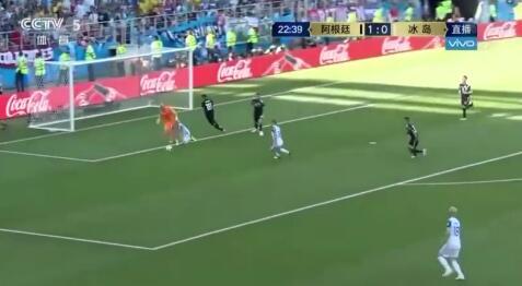 梅西失点 阿根廷1-1战平冰岛
