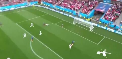 前半场赛况 法国1-0秘鲁