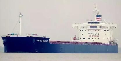 美大豆船靠港卸货