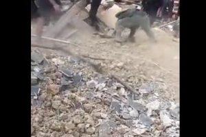 上饶德兴市发生房屋垮塌事故,造成一死一伤
