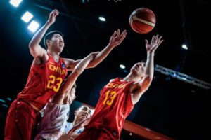 U18男篮无缘决赛