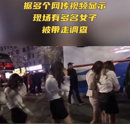 信阳金糖果KTV被查 上百年轻女涉黄被带走